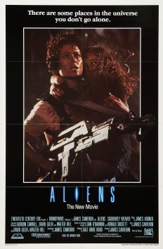 Aliens alternate poster
