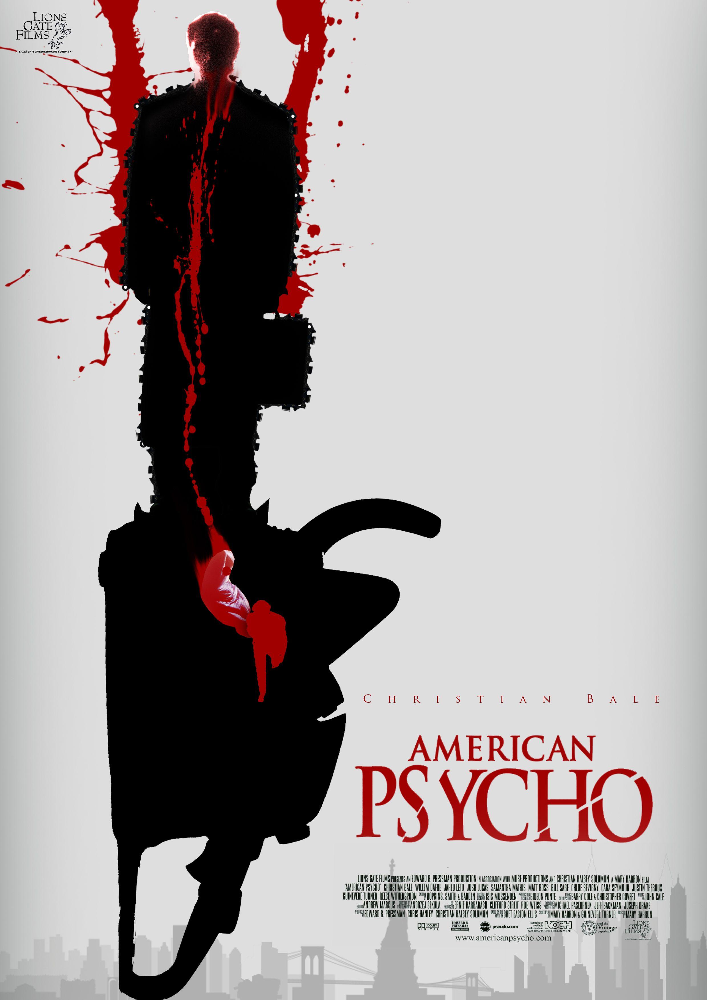 American Psycho poster Jayaram Ramachandran