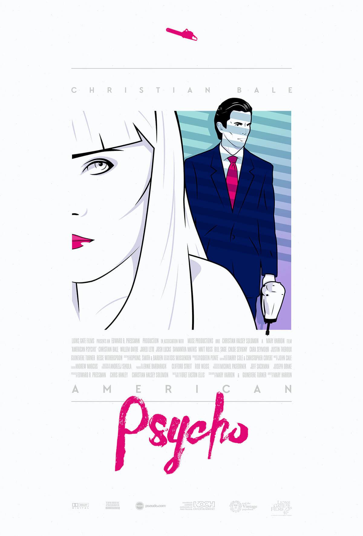 American Psycho poster John Godfrey