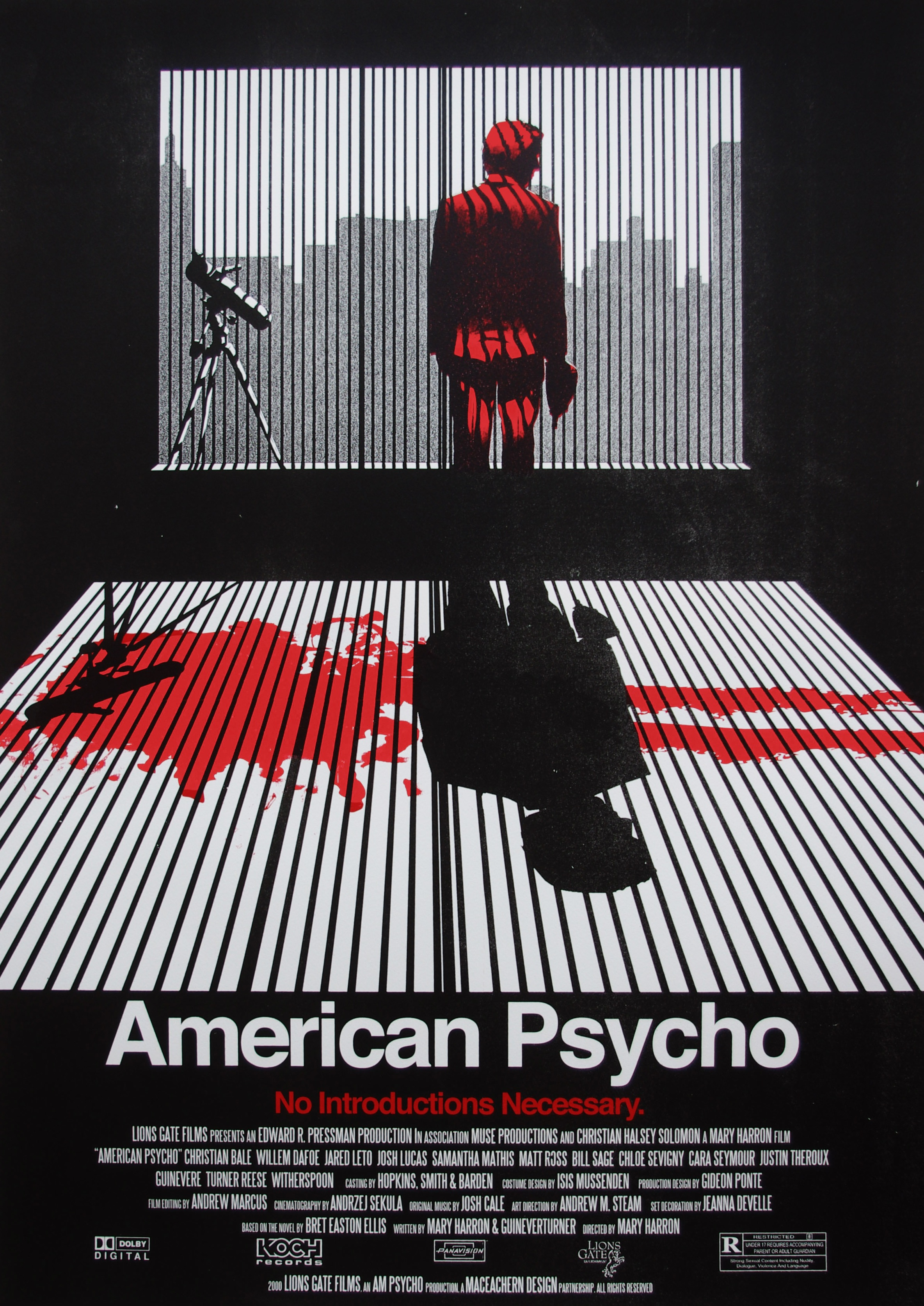 American 心理 poster Ryan MacEachern