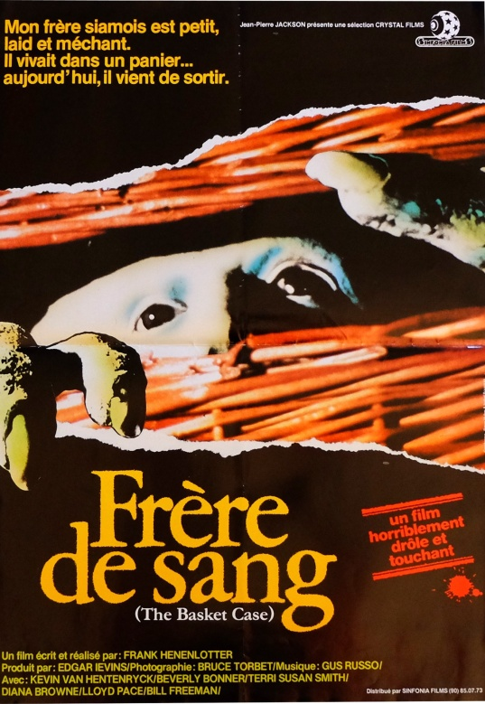Basket Case French poster