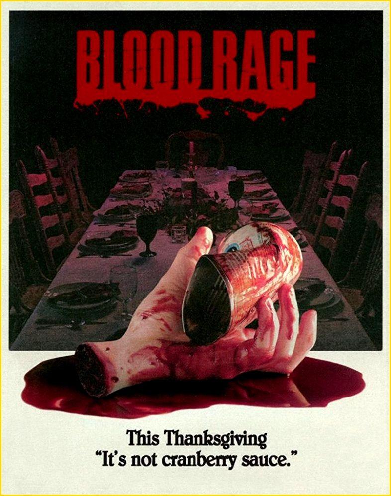 Blood Rage alternate poster