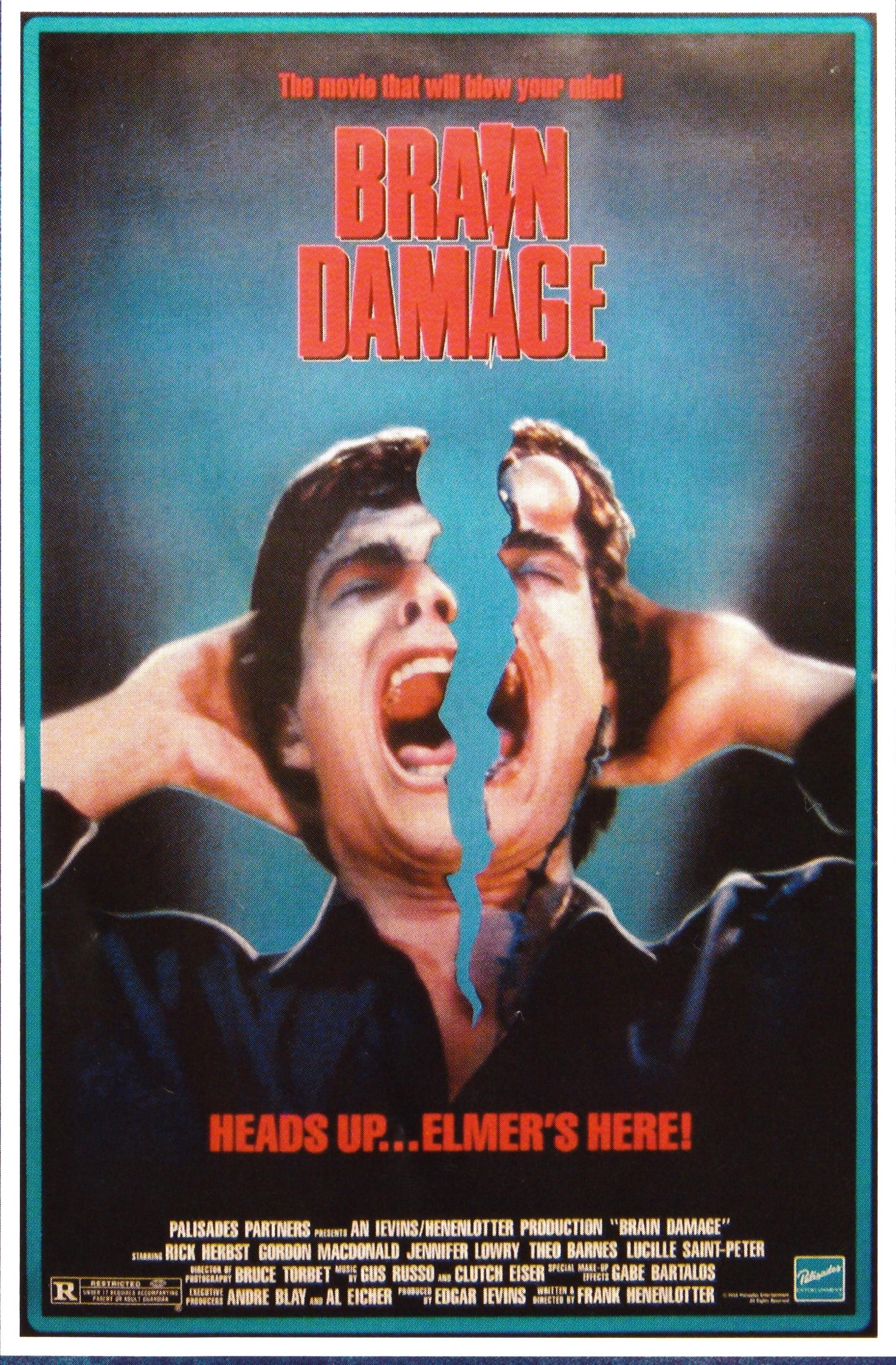 Brain Damage alternate poster