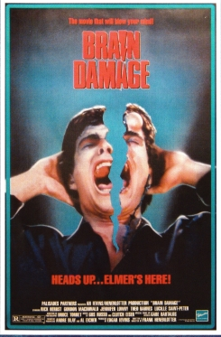 Brain Damage alternate poster