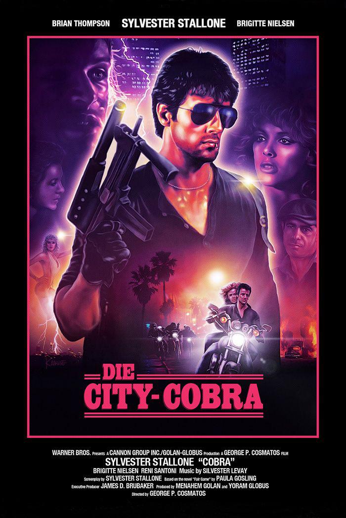 Cobra German poster