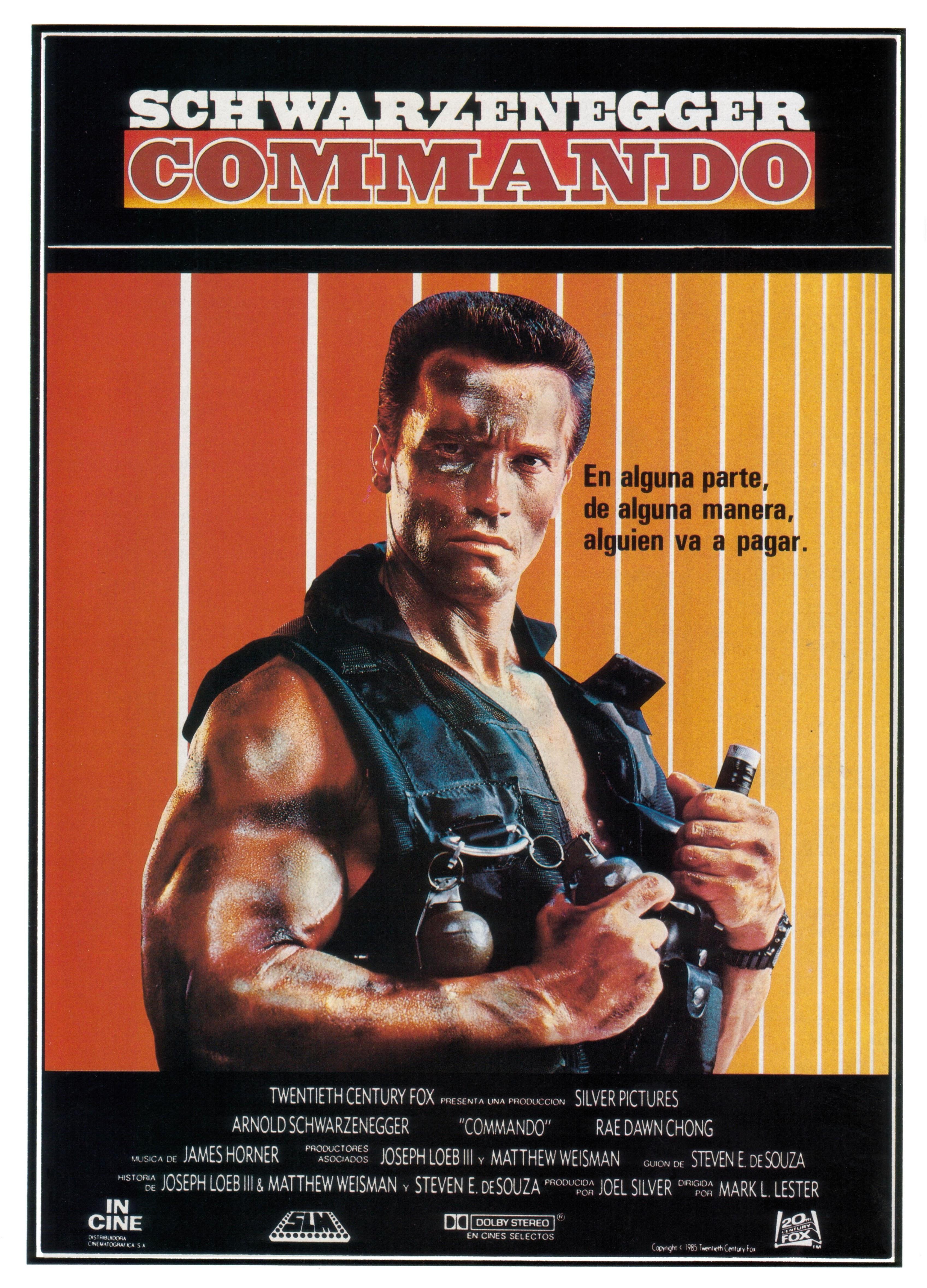 Commando Spanish poster