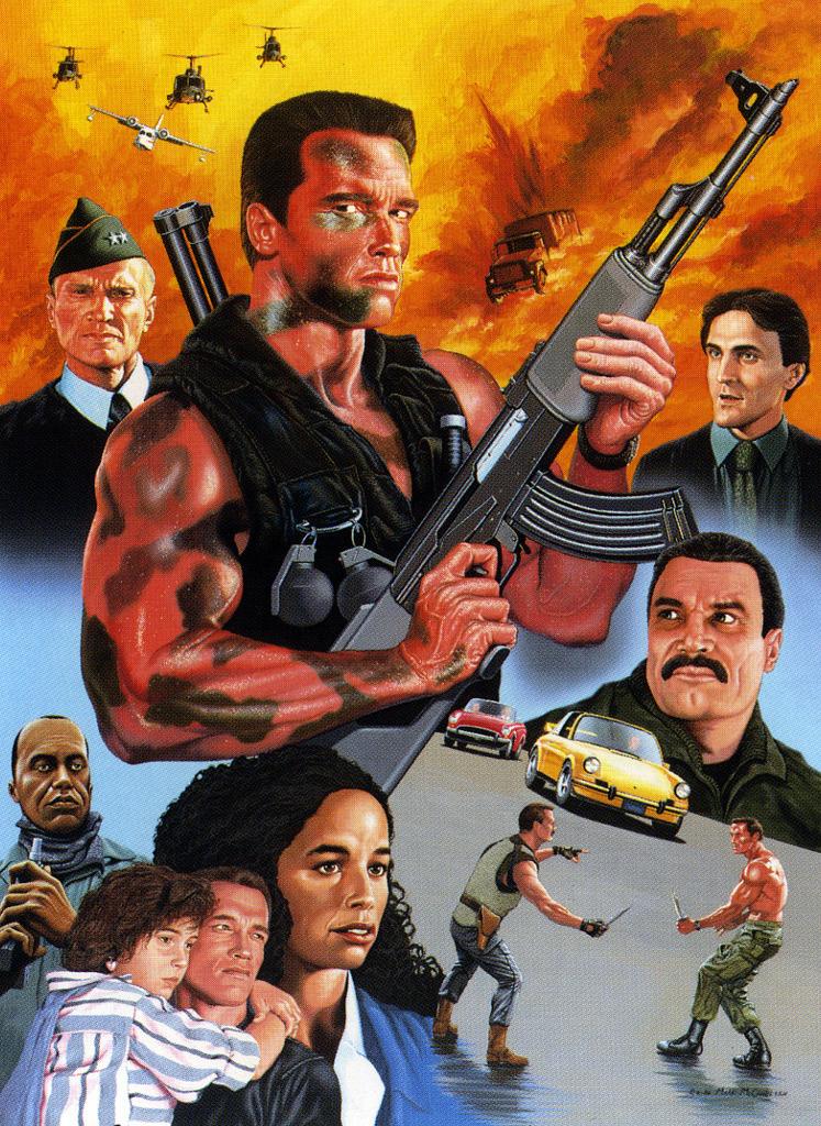Commando poster Pepe Cardoso