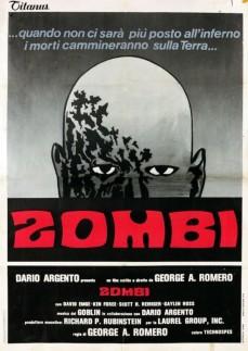 Dawn of the Dead Italian poster