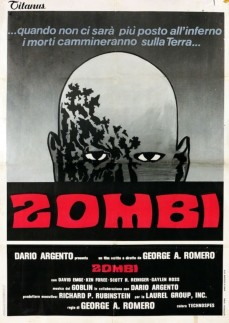 Dawn of the Dead Italian poster