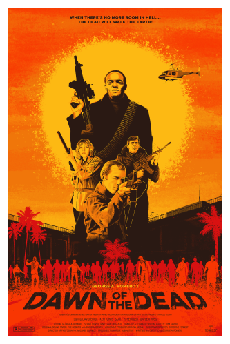 Dawn of the Dead poster Andrew Swainson