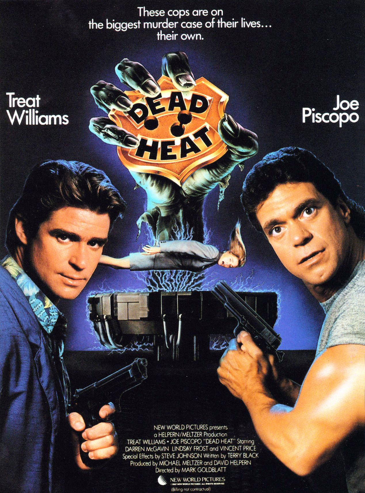 Dead Heat alternate poster