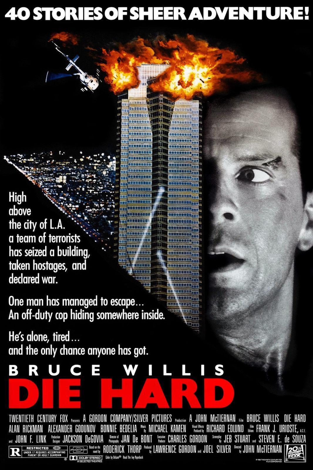 Die Hard alternate poster