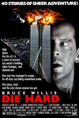 Die Hard alternate poster