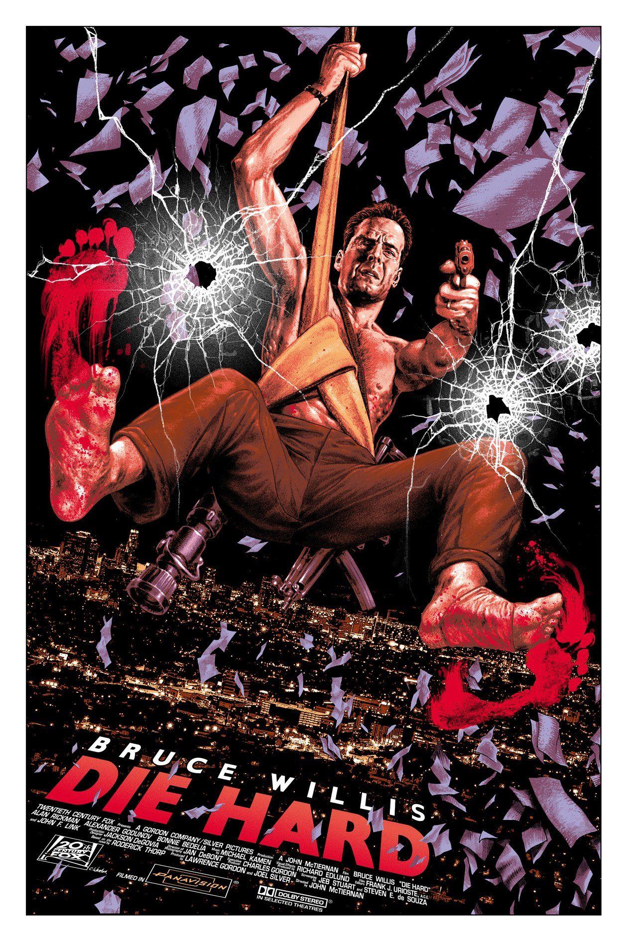 Die Hard poster Balint Bernhardt