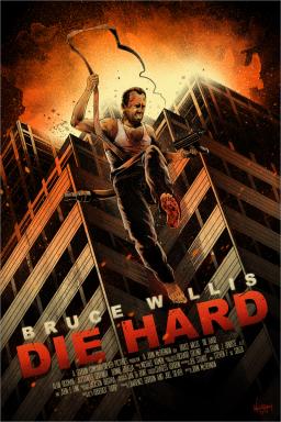 Die Hard poster JP Valderrama