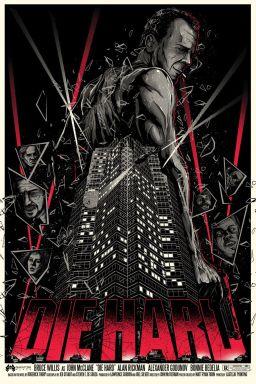 Die Hard poster Matt Ryan