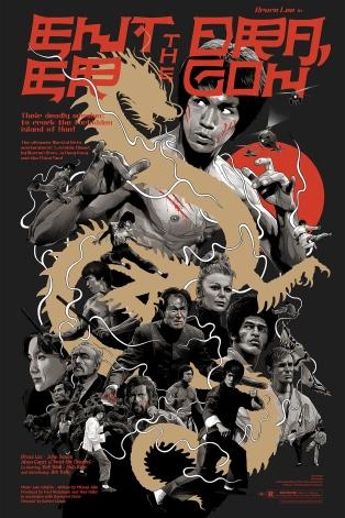Enter The Dragon poster Grzegorz Domaradzki