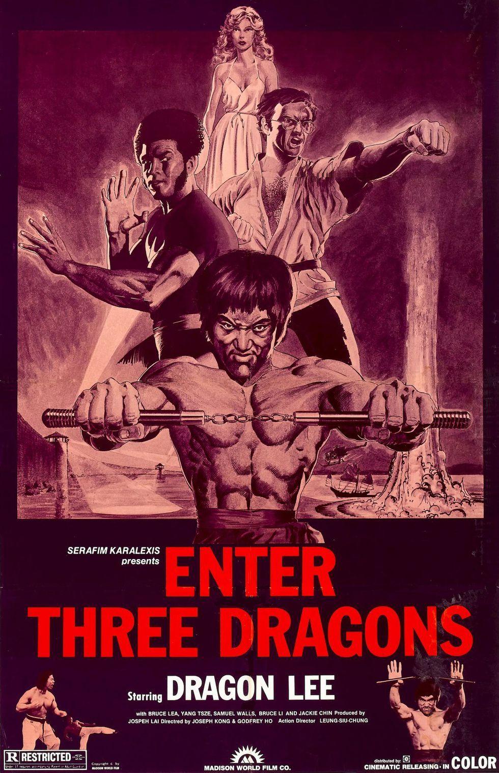 Enter the Dragon alternate poster