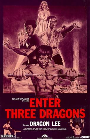 Enter the Dragon alternate poster