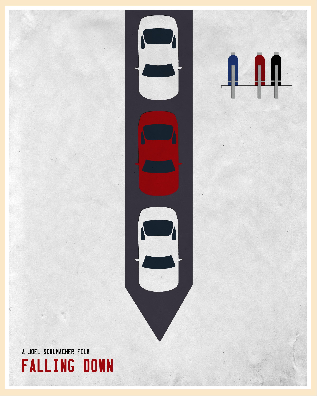 Falling Down poster Jon Glanville