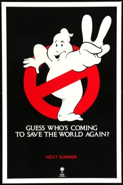 Ghostbusters II teaser poster