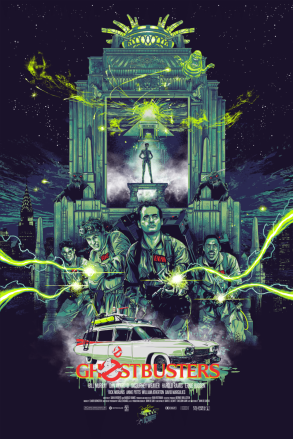 Ghostbusters Poster Vance Kelly
