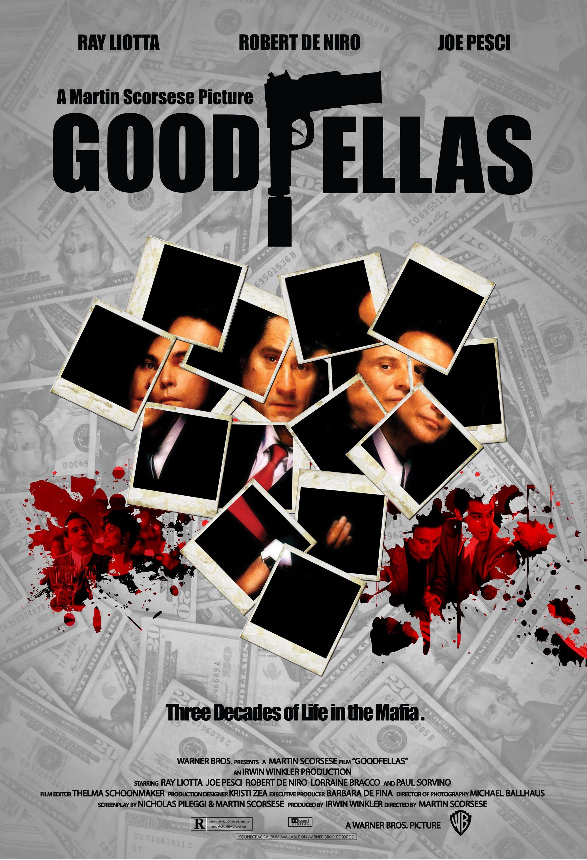 Goodfellas poster Andrew Borrayo