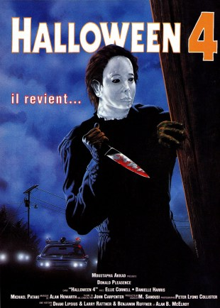Halloween 4 French poster