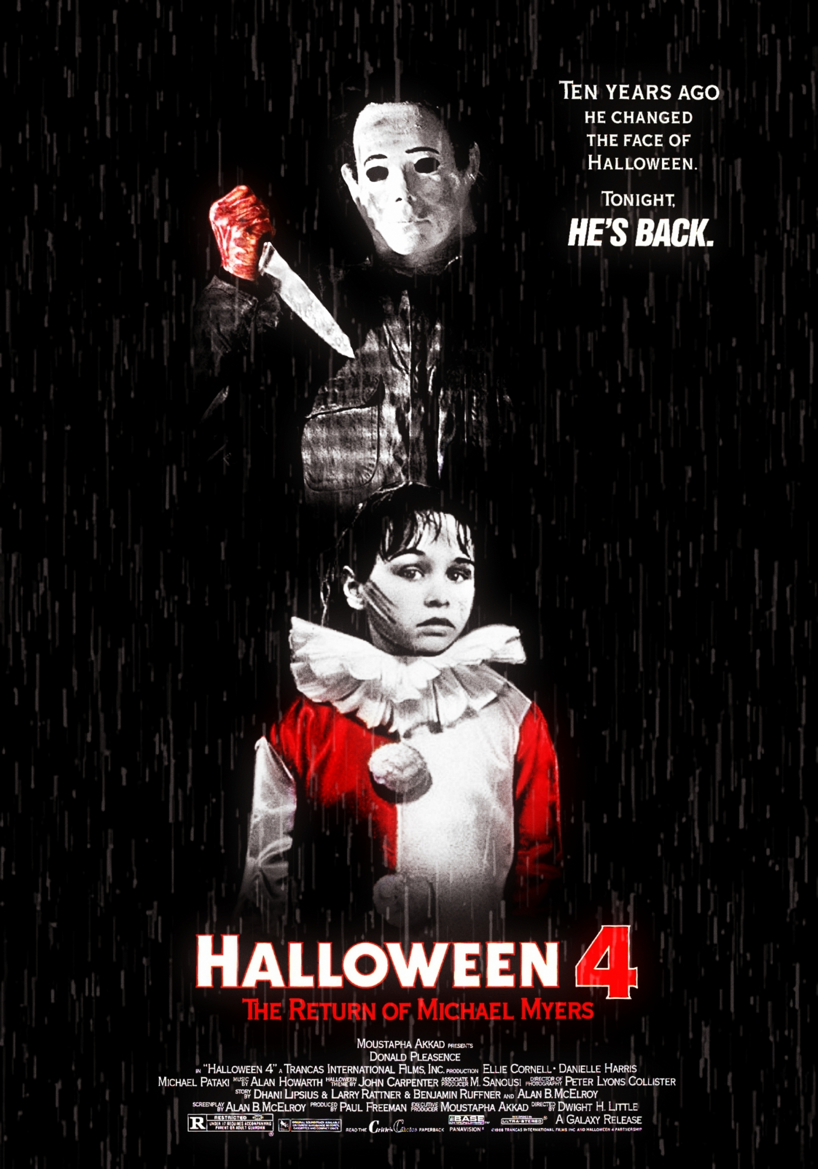 Halloween 4 alternate poster
