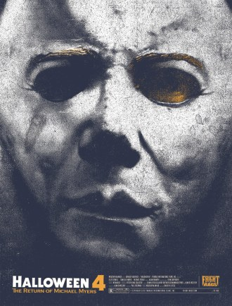 Halloween 4 poster Fright Rags