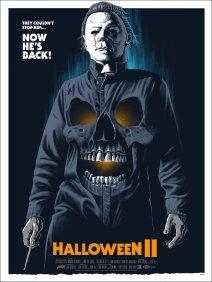 Halloween II poster Gary Pullin