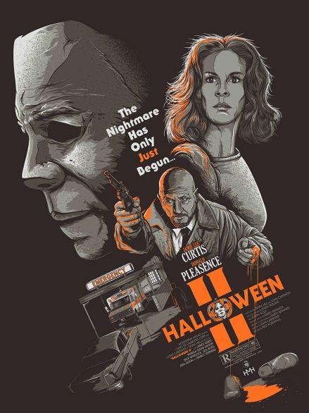Halloween II poster Patrick Connan