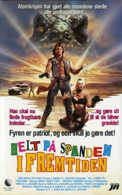 Hell Comes to Frogtown Danish poster