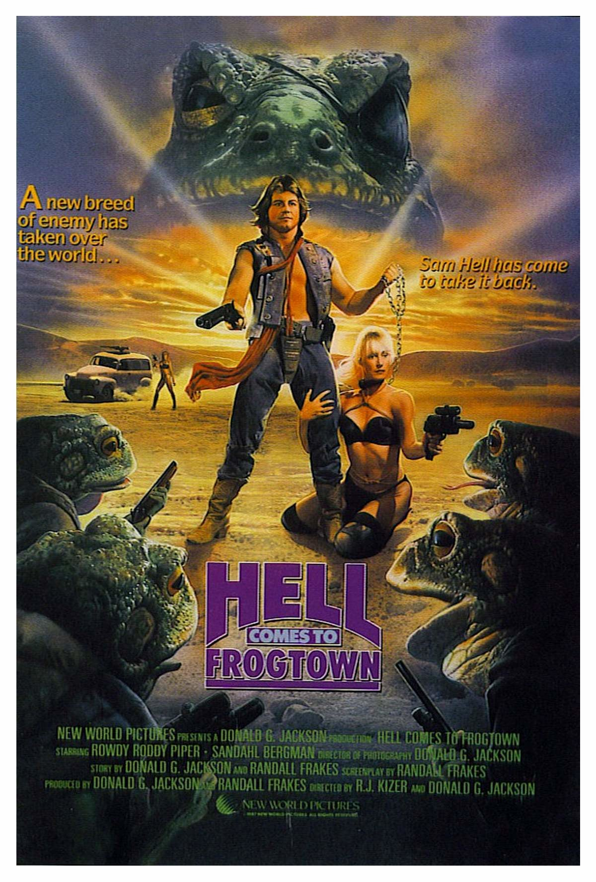 Hell Comes to Frogtown alternate poster