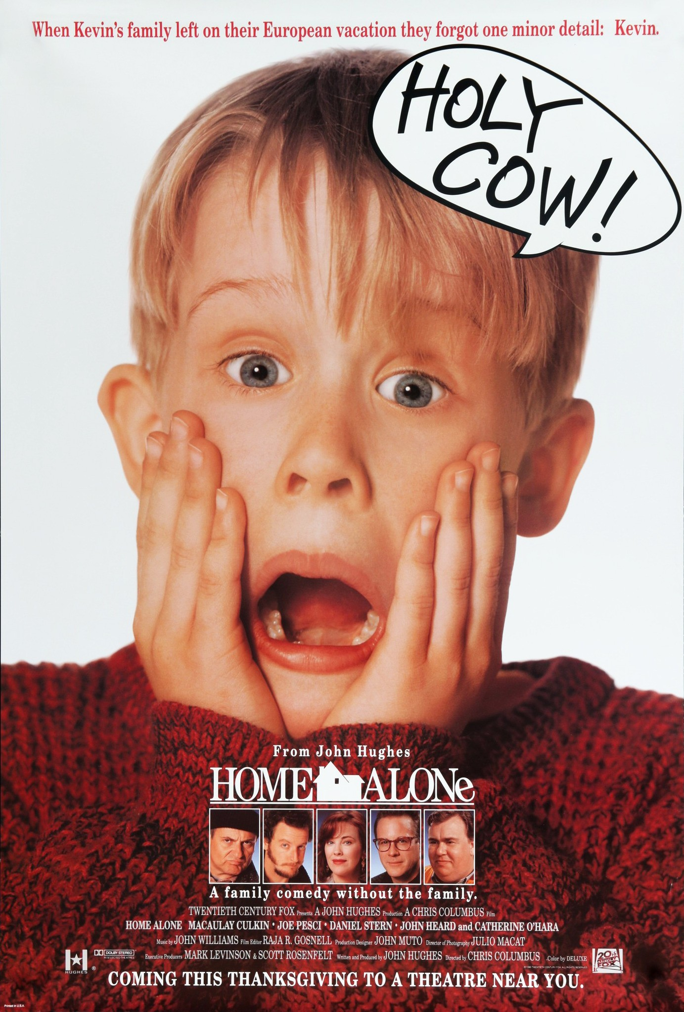 Home Alone alternate poster