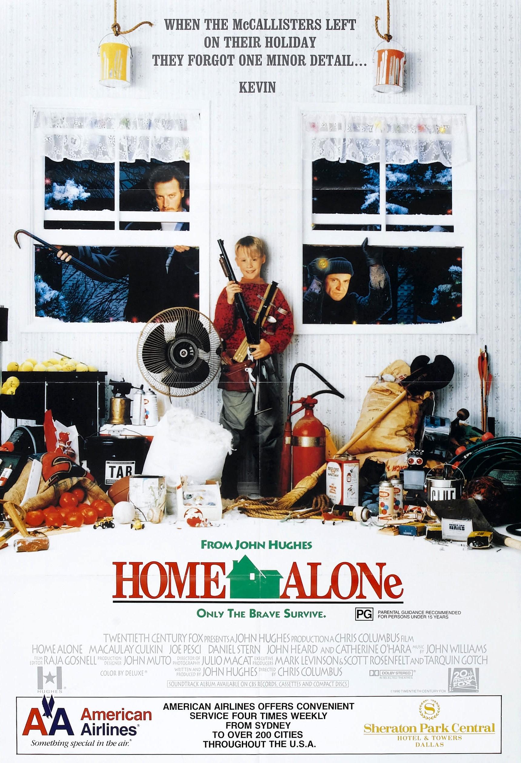 Home Alone poster alternate 2