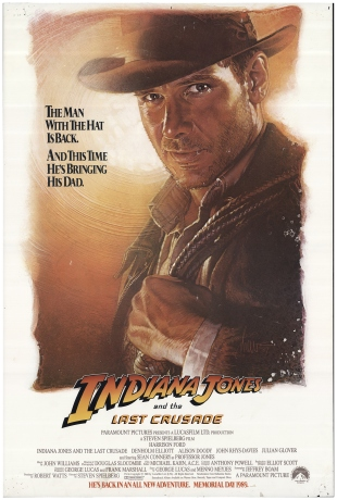 Indiana Jones and the Last Crusade alternate poster