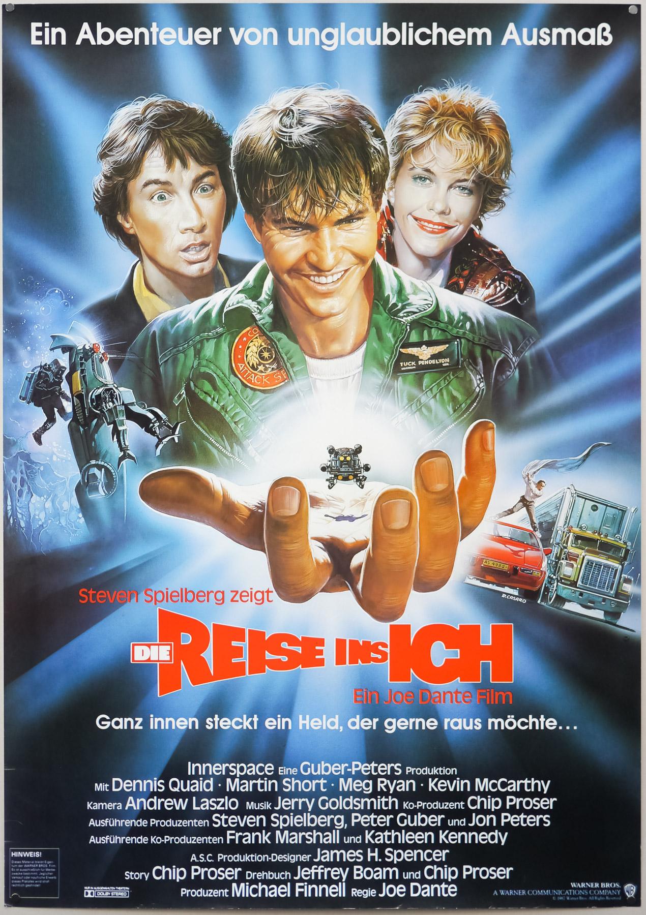 Innerspace German poster