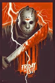 Jason Lives! poster Mondo