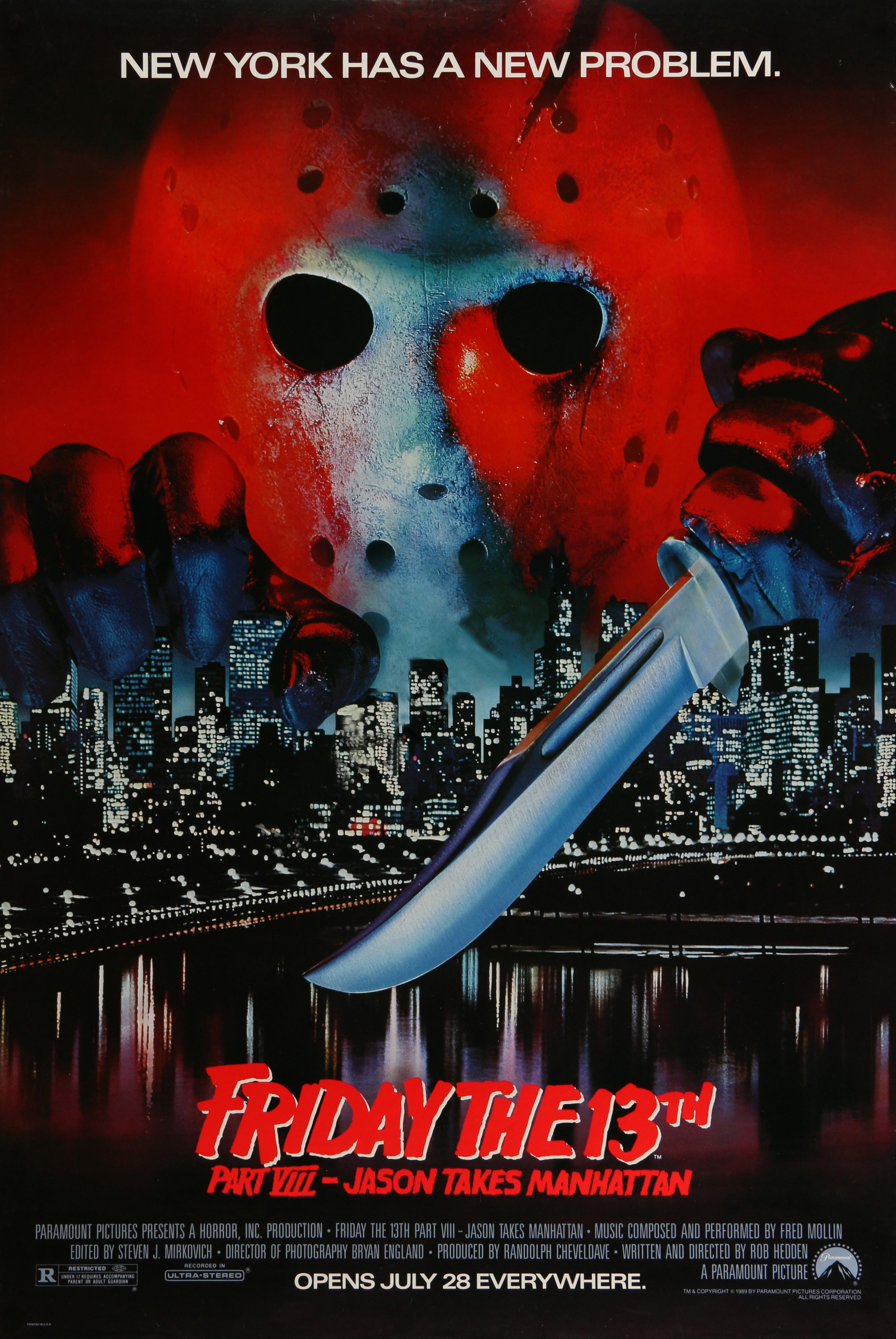 Jason Takes Manhattan alternate poster