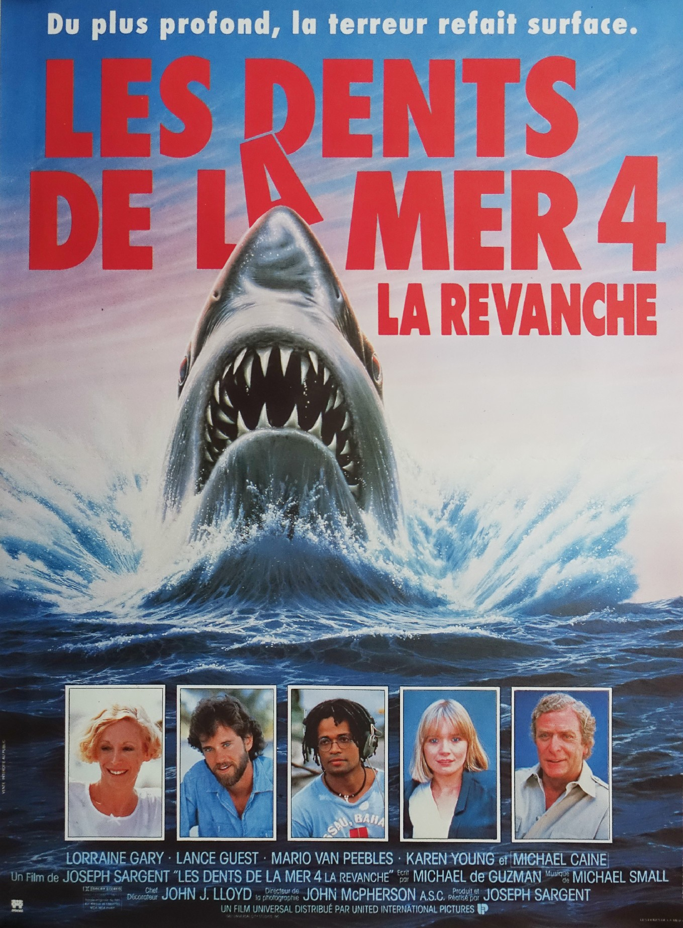 Jaws The Revenge French poster