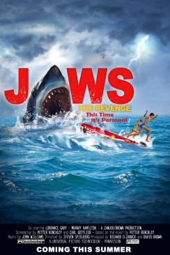 Jaws The Revenge teaser poster