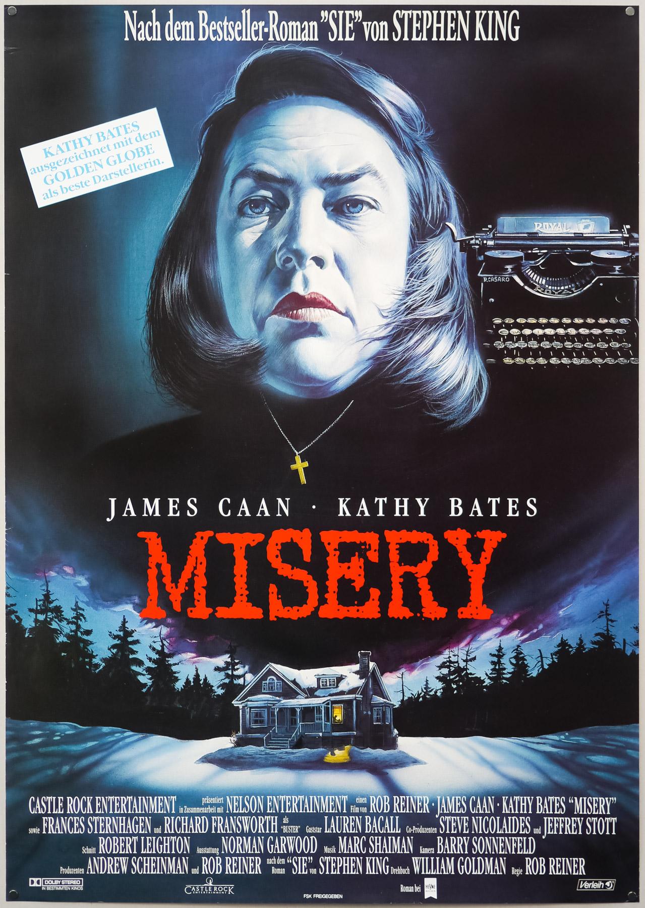 Misery German poster
