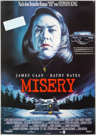 Misery German poster