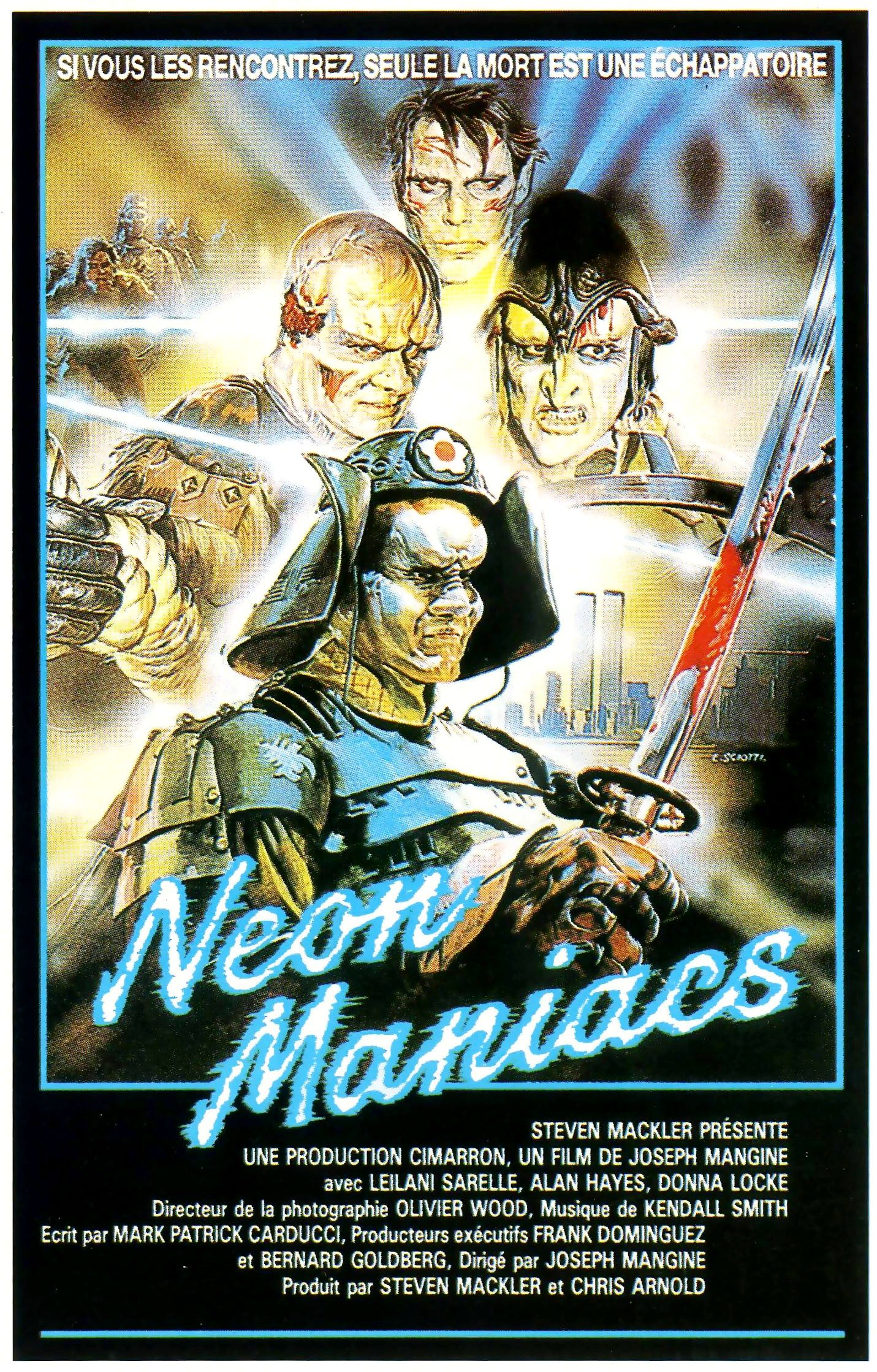 Neon 疯子 French poster
