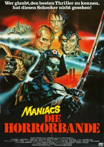 Neon Maniacs German poster