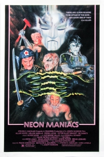 Neon Maniacs alternate poster 2