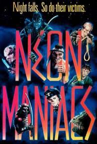 Neon Maniacs alternate poster