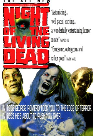 Night of the Living Dead 1990 alternate poster
