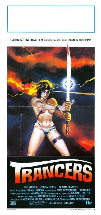 Ninja III Italian poster